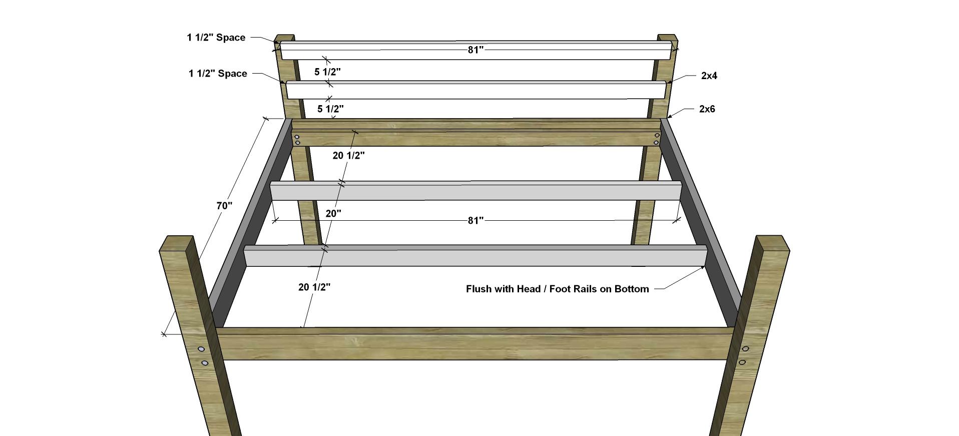 Loft Bed Plans Free Queen