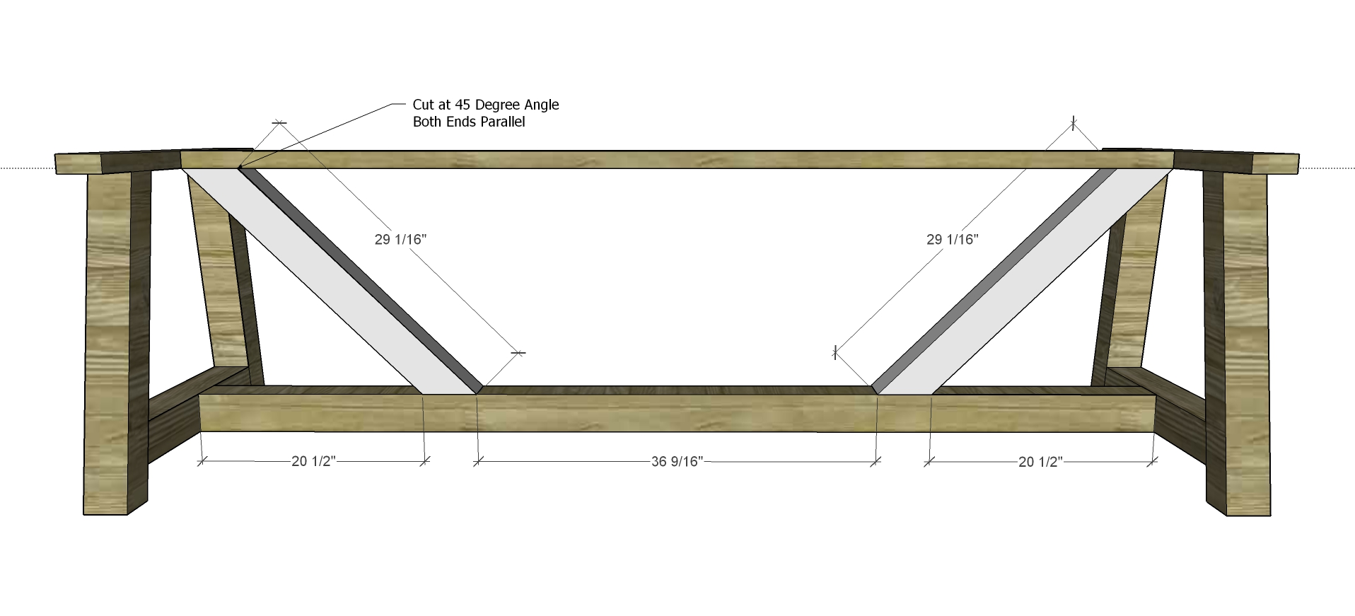 Free diy furniture plans to build a restoration hardware for 10 foot farmhouse table plans