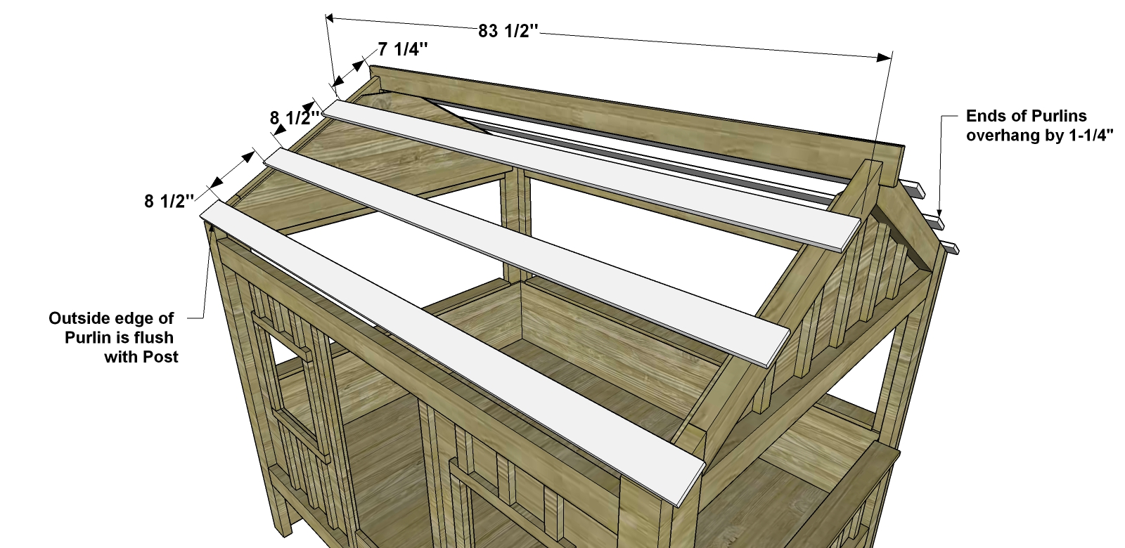 free diy furniture plans how to build a full sized cabin loft