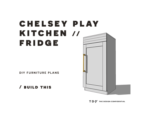 Kitchen Furniture Plans: DIY Furniture Plans // How To Build A Chelsey Play Kitchen
