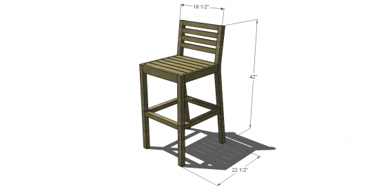 Dimensions For This Project Build Your Own Bar Stools58