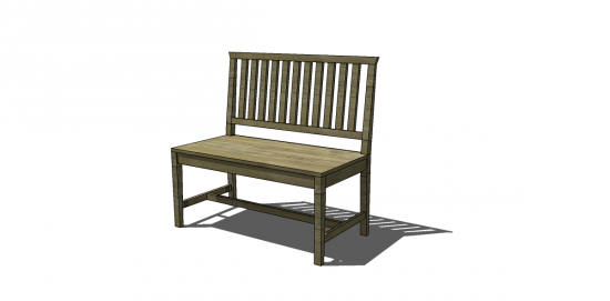Free diy furniture plans how to build a crate and barrel for Crate and barrel armless chair