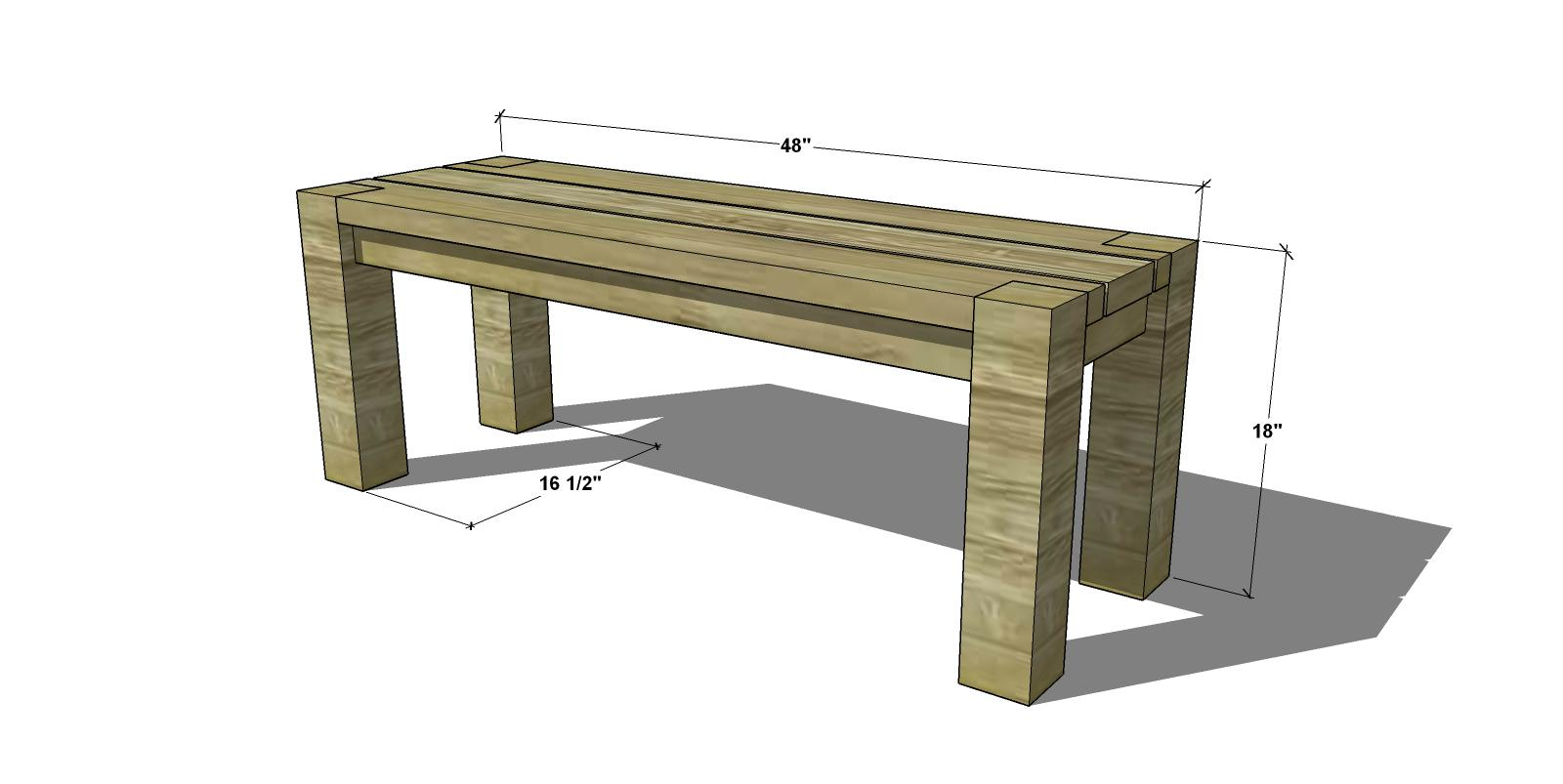 Free Woodworking Plans To Build A Big Sur Coastal Collection 48 Inch