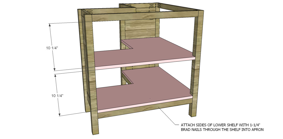 Bookcase Shelves for The Design Confidential for Free DIY Furniture Plans to Build a Pottery Barn Kids Inspired Cameron Corner Bookcase