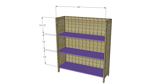 Free DIY Furniture Plans To Build A PB Inspired Kenwood Bookcase