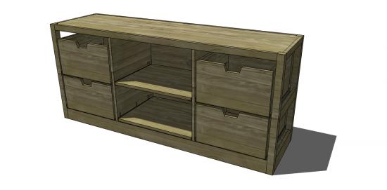 Free DIY Furniture Plans to Build a Restoration Hardware Inspired ...