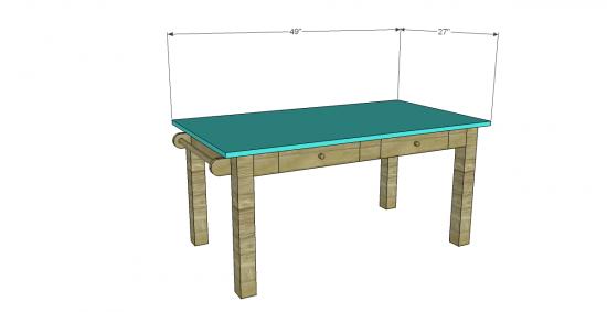 Free Diy Furniture Plans To Build A Pb Kids Inspired Carolina Craft