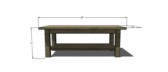 Coffee Table Design Plans Tape G