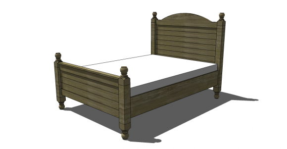 Free DIY Furniture Plans to Build a PB Inspired Cortona King Bed - The  Design Confidential