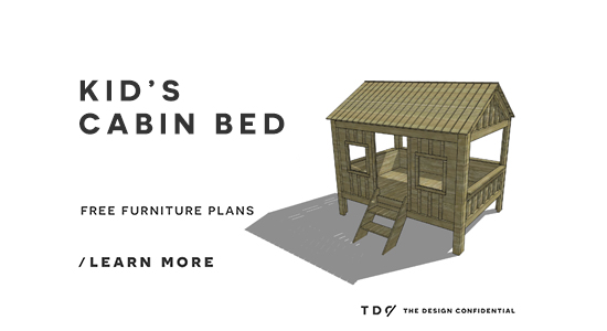 25 Diy Bunk Beds With Plans: Free DIY Furniture Plans // How To Build A Full Sized