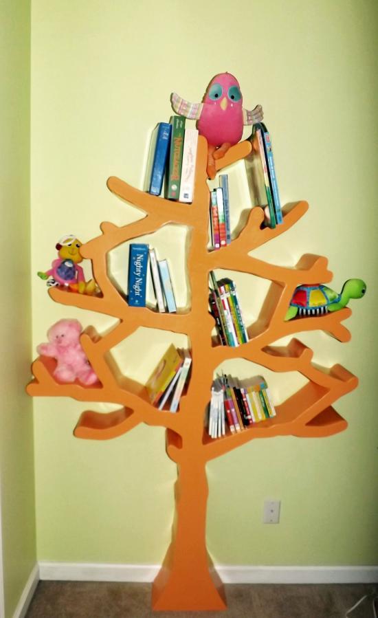 Reader Showcase Roberts Tree Shaped Bookshelf The