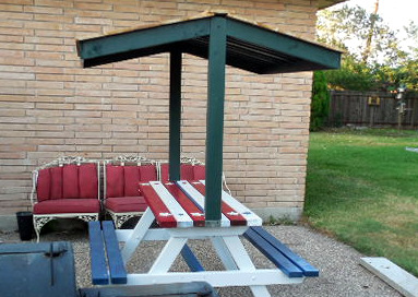 Builders Showcase Jake S Picnic Table Canopy The Design