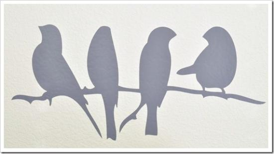 Bird On A Wire And How To Install Vinyl Wall Art The Design