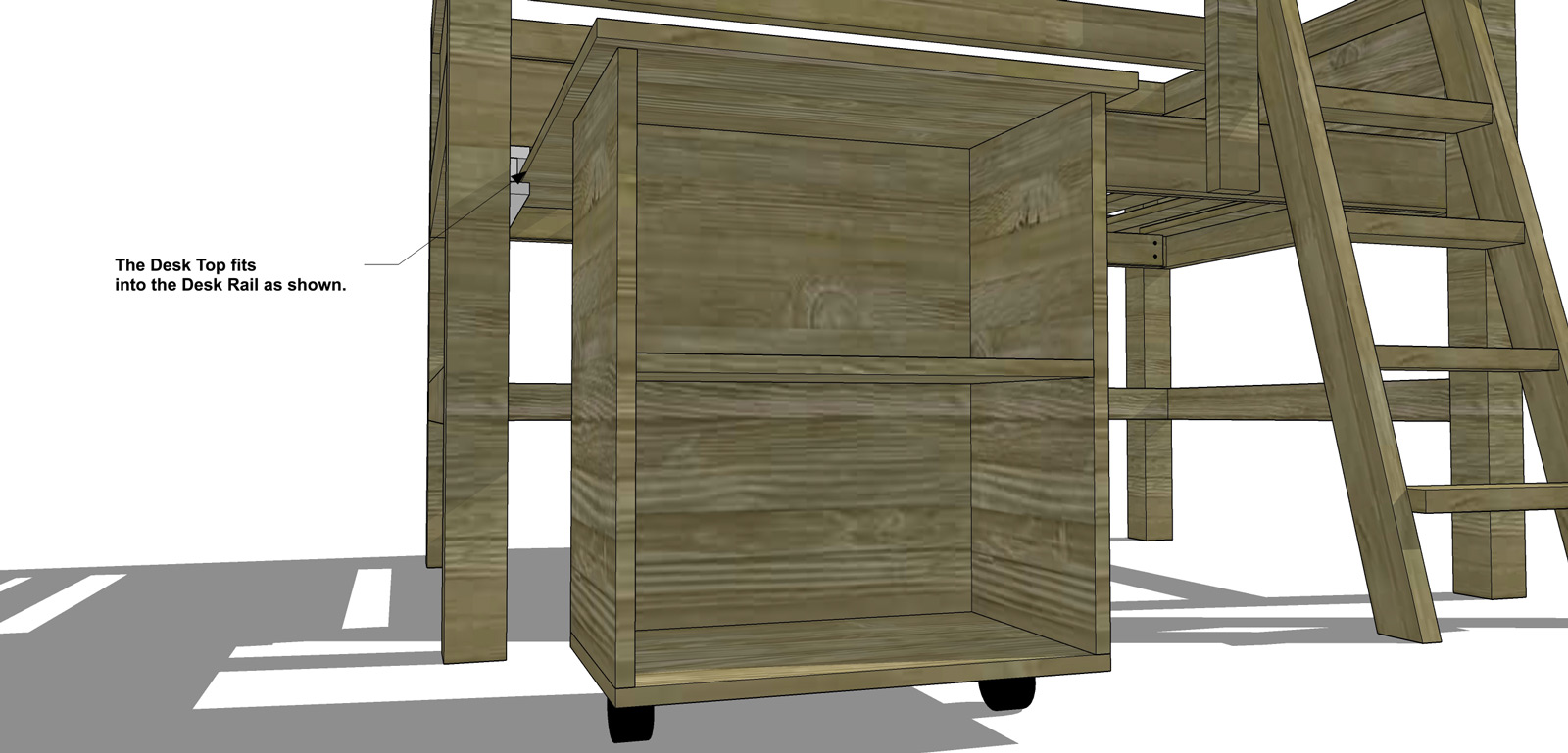 free diy furniture plans how to build a twin sized low. Black Bedroom Furniture Sets. Home Design Ideas