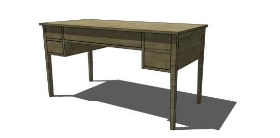 Free DIY Furniture Plans to Build a Ballard Designs Inspired ...