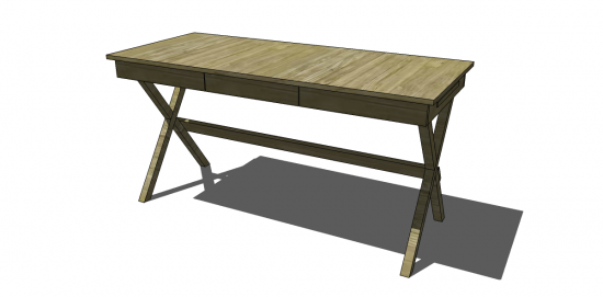 Free DIY Furniture Plans to Build a World Market Inspired Campaign ...