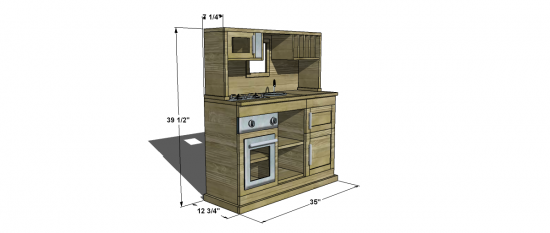 Free Woodworking Plans To Build A Gourmet Kitchen Part 2