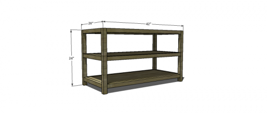 Free Woodworking Plans To Build A West Elm Inspired Parsons Shelf
