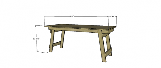 the design free diy furniture plans to build a folding
