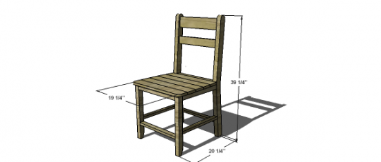 Free DIY Furniture Plans to Build a Shabby Chic Cottage Dining ...