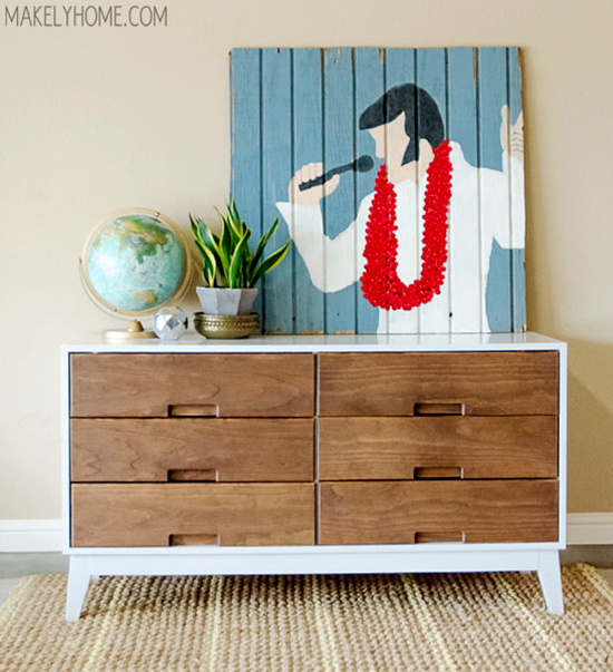 how to build a 6 drawer dresser