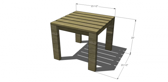 Free DIY Furniture Plans To Build A Crate Barrel Inspired Reef End - How to build an end table