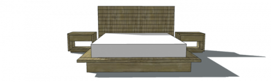 Popular Free Woodworking Plans to Build a Viva Terra Inspired King Sized Vintage Fir Platform Bed The Design Confidential