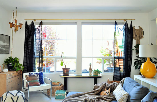 The Design Confidential Home Tour // My Vintage Vixen Family Room Reveal