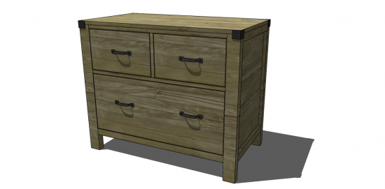 Free DIY Furniture Plans to Build a Pottery Barn Inspired Hendrix ...