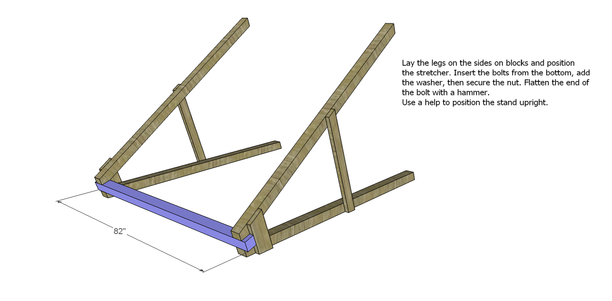 Free DIY Furniture Plans How to Build a Swing A Frame The