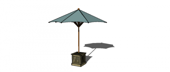 Free DIY Furniture Plans To Build A PB Inspired Chesapeake Umbrella Stand  And Side Table   The Design Confidential