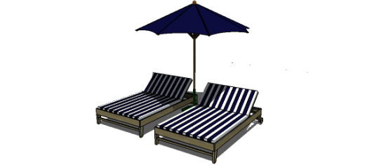 Free DIY Furniture Plans To Build A PB Inspired Chesapeake Double Lounger