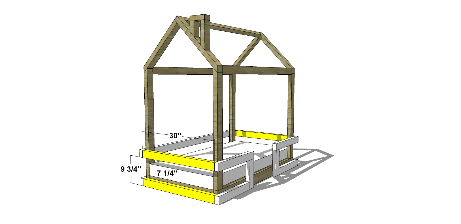 Diy Furniture Plans How To Build A Toddler Bed Rail