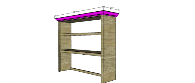 Free Woodworking Plans To Build The Office Bookshelves Hutch