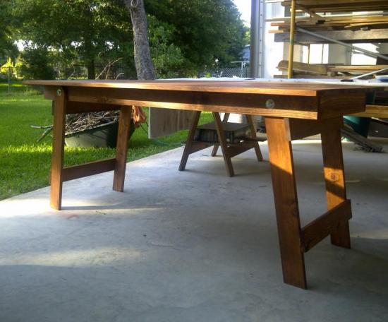 You Can Build This! The Design Confidential Free DIY Furniture Plans to Build a Folding Table