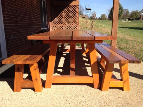 Fancy Reader Showcase Bob us Provence x table with benches The Design Confidential