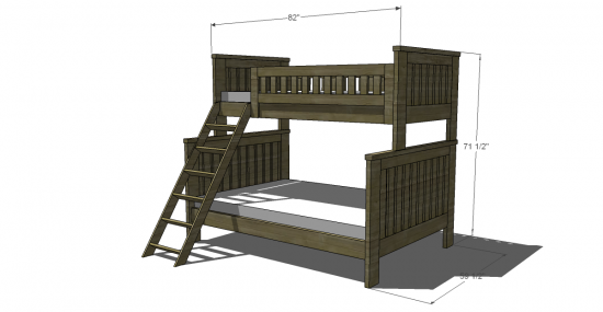The Design Confidential's Free Woodworking Plans to Build an RH Inspired