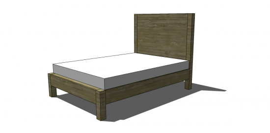 Awesome Free DIY Furniture Plans to Build a West Elm Inspired Emmerson King Bed The Design Confidential