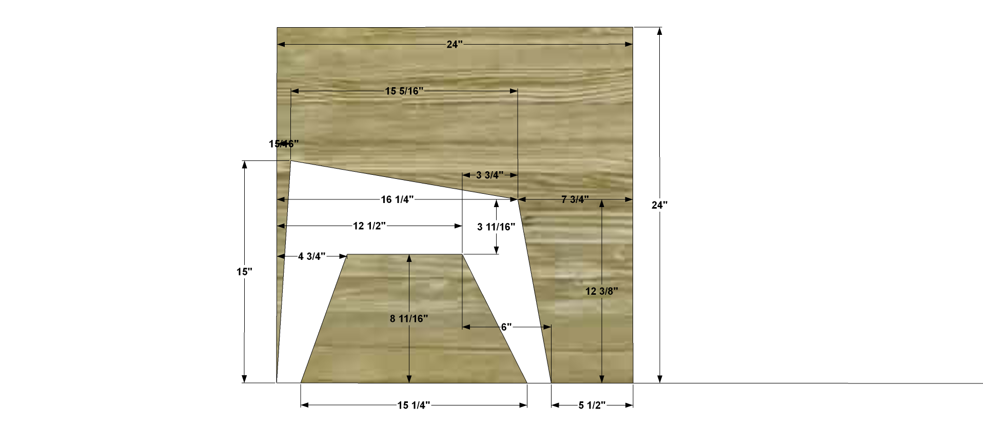 Build An Ottoman Free Woodworking Plans To Build A Cb2 Inspired Sawyer Adirondack