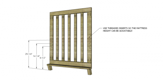 Beautiful  NOTE Please add one additional vertical frame piece to each end essentially the bars This has already been accounted for in the lumber list and the