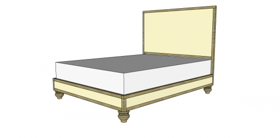 Cool Free DIY Furniture Plans to Build a RH Inspired Maison Bed The Design Confidential