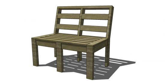 Free DIY Furniture Plans to Build Customizable Outdoor Furniture - Free DIY Furniture Plans To Build Customizable Outdoor Furniture