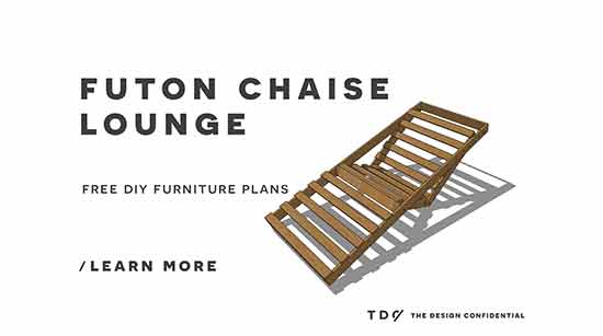 Free diy furniture plans how to build an indoor outdoor for Build a chaise lounge