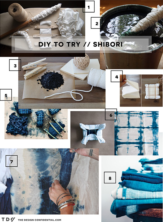 Roundup of Projects for DIY to Try // Shibori is To Dye For