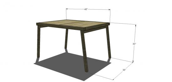 Free Diy Furniture Plans To Build A Cb2 Inspired