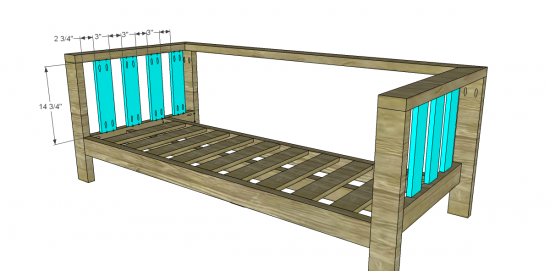 Free Diy Furniture Plans To Build A Crate Barrel Inspired Reef