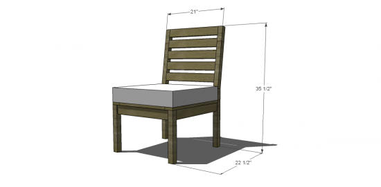 Tremendous Free Diy Furniture Plans To Build A Rustic Outdoor Chair Theyellowbook Wood Chair Design Ideas Theyellowbookinfo
