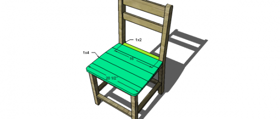 Superior Free DIY Furniture Plans To Build A Shabby Chic Cottage Dining Chair   The  Design Confidential