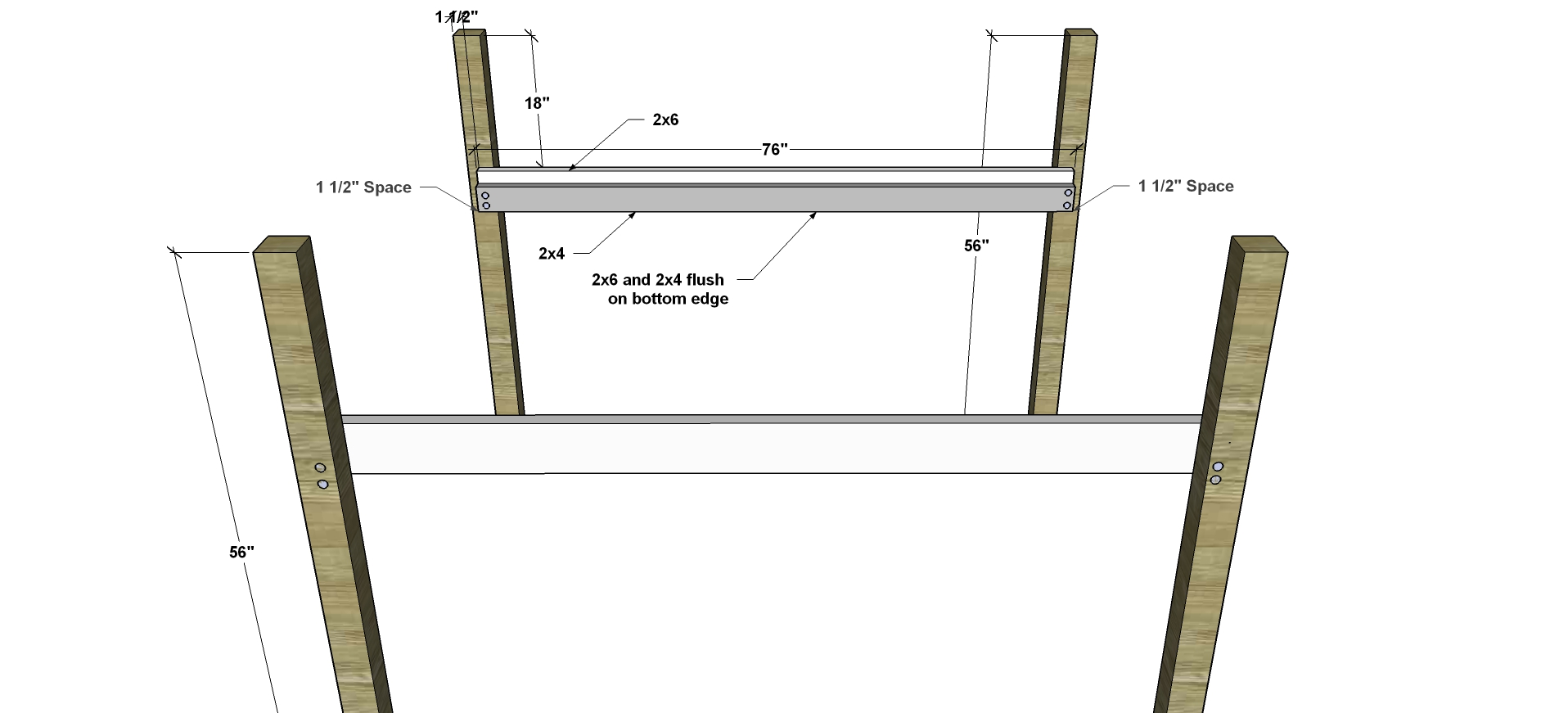 free woodworking plans to build a full sized low loft bunk the free woodworking plans to build a full sized low loft bunk