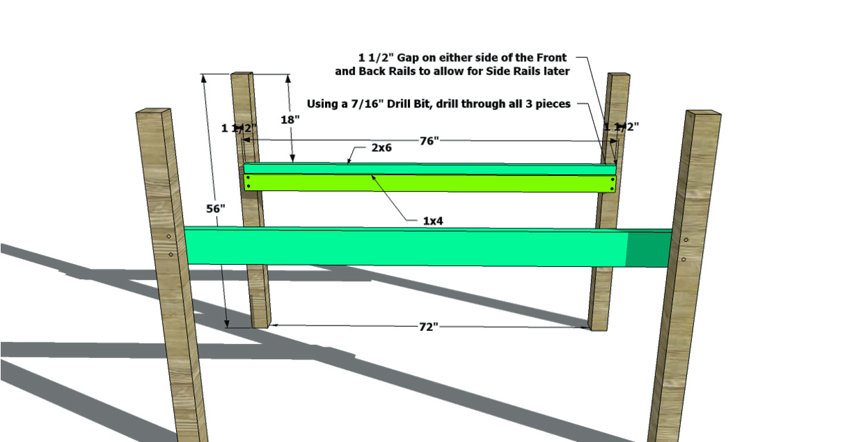 Building Plans For Low Loft Bed